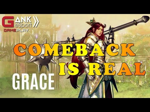 [Vainglory] Grace hero gây lật kèo nhất vịnh bắc bộ |  Grace Vainglory Gameplay 2.6