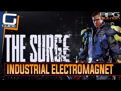 The Surge - Industrial Electromagnet Drone Module Location