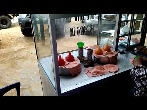 Kue putu cangkir (Khas Gowa) di Kota Sorong
