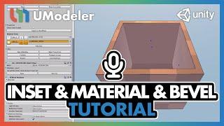 UModeler Tutorial #3 - Inset & Material & Bevel