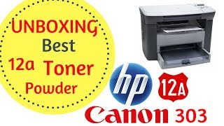 Best 12a Toner Powder | UnBoxing and Review.