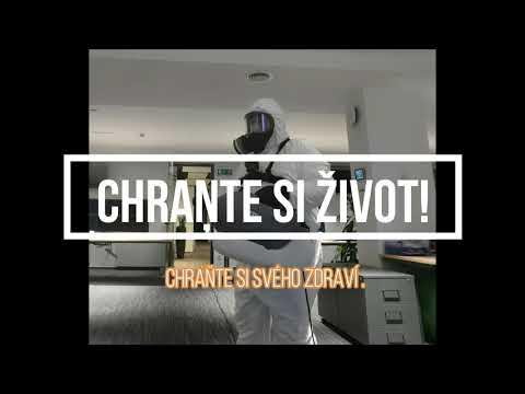 Profesionální dezinfekce ULV Foggerem- Dezinfekce kanceláří a budov Praha a okoli,