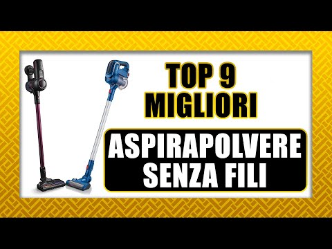 ✔️ TOP 9 ASPIRAPOLVERE SENZA FILI | 2019 2020 ✔️