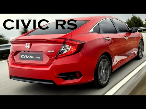 Test - Honda Civic Sedan 1.5 Turbo RS 2017 Test Sürüşü
