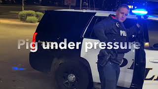 Police brutality ends when cameras show up!