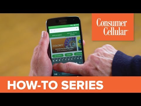 Motorola Moto G⁵ Plus: Managing Apps (6 Of 12) | Consumer Cellular