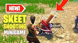 *NEW* Skeet Shooting Mini Game Found in Fortnite Battle Royale