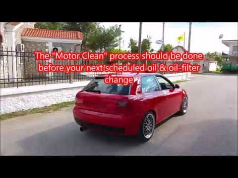 How to remove engine sludge and perform oil and filter change - Audi A3 1,8 20VT