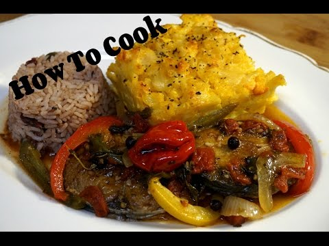 HOW TO MAKE JAMAICAN STYLE SLICE KING FISH RECIPE 2017