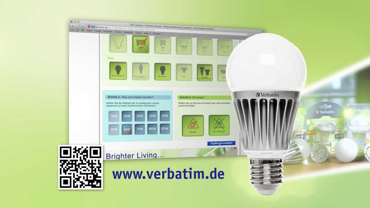 Verbatim Led Lampen Tutorial Sockel Youtube - Led Lampen Sockel