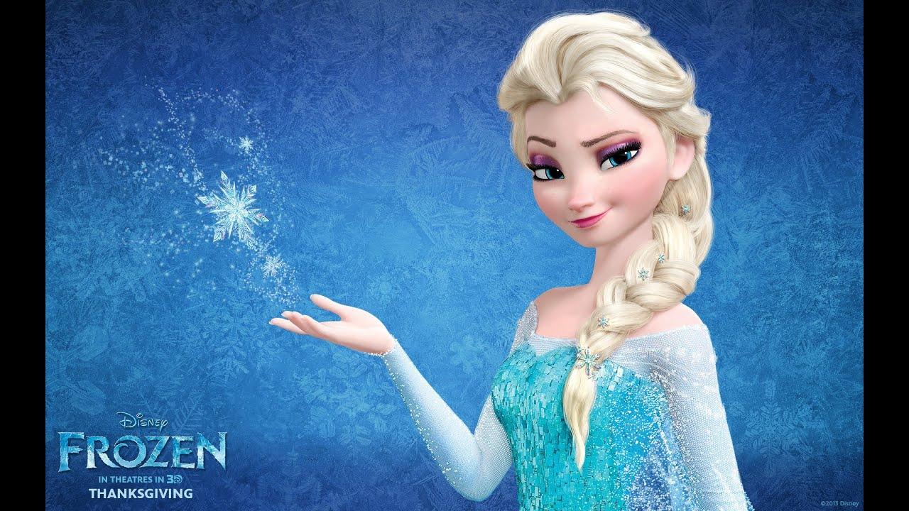 Maquillaje y Peinado inspirado en Elsa de FrozenDisney  YouTube
