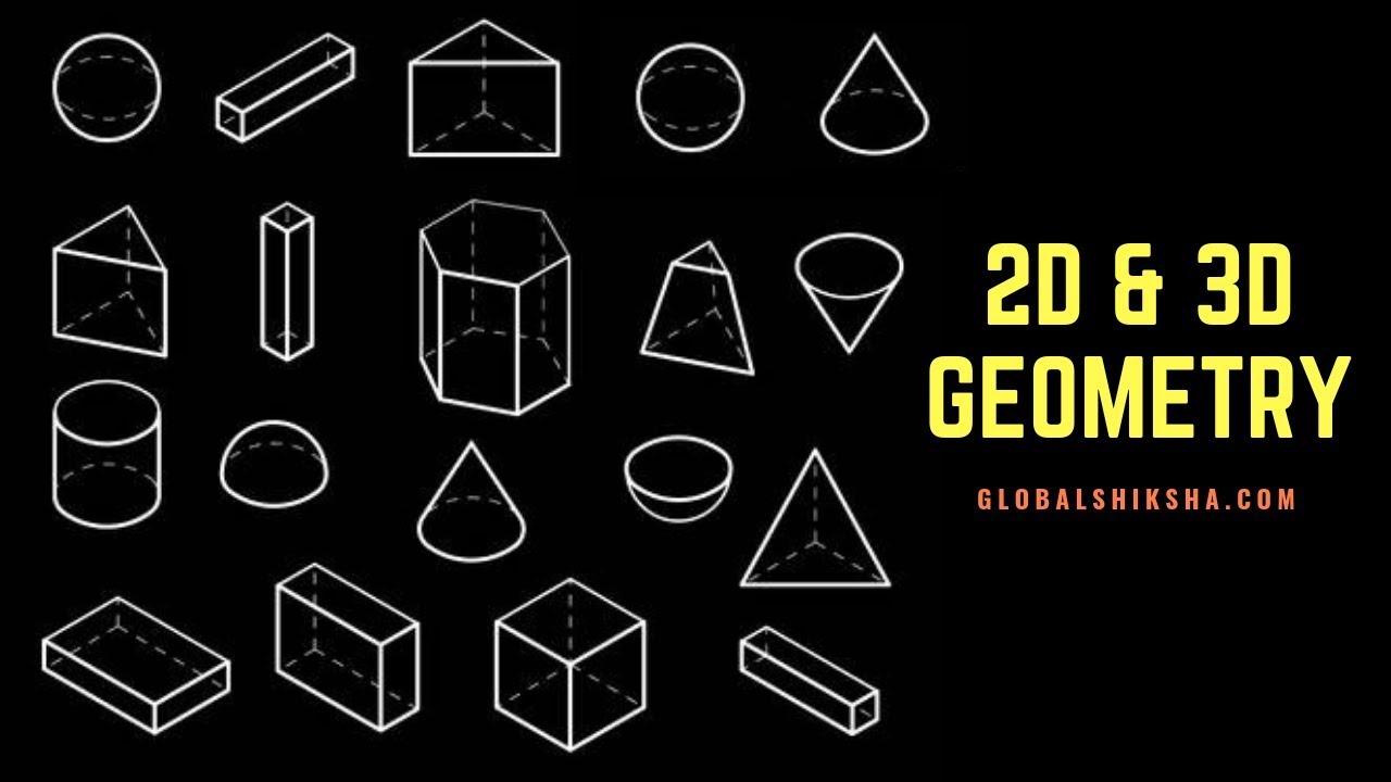 hight resolution of Class 8 Maths - Geometry - Understanding 2D \u0026 3D Shapes   CBSE - YouTube