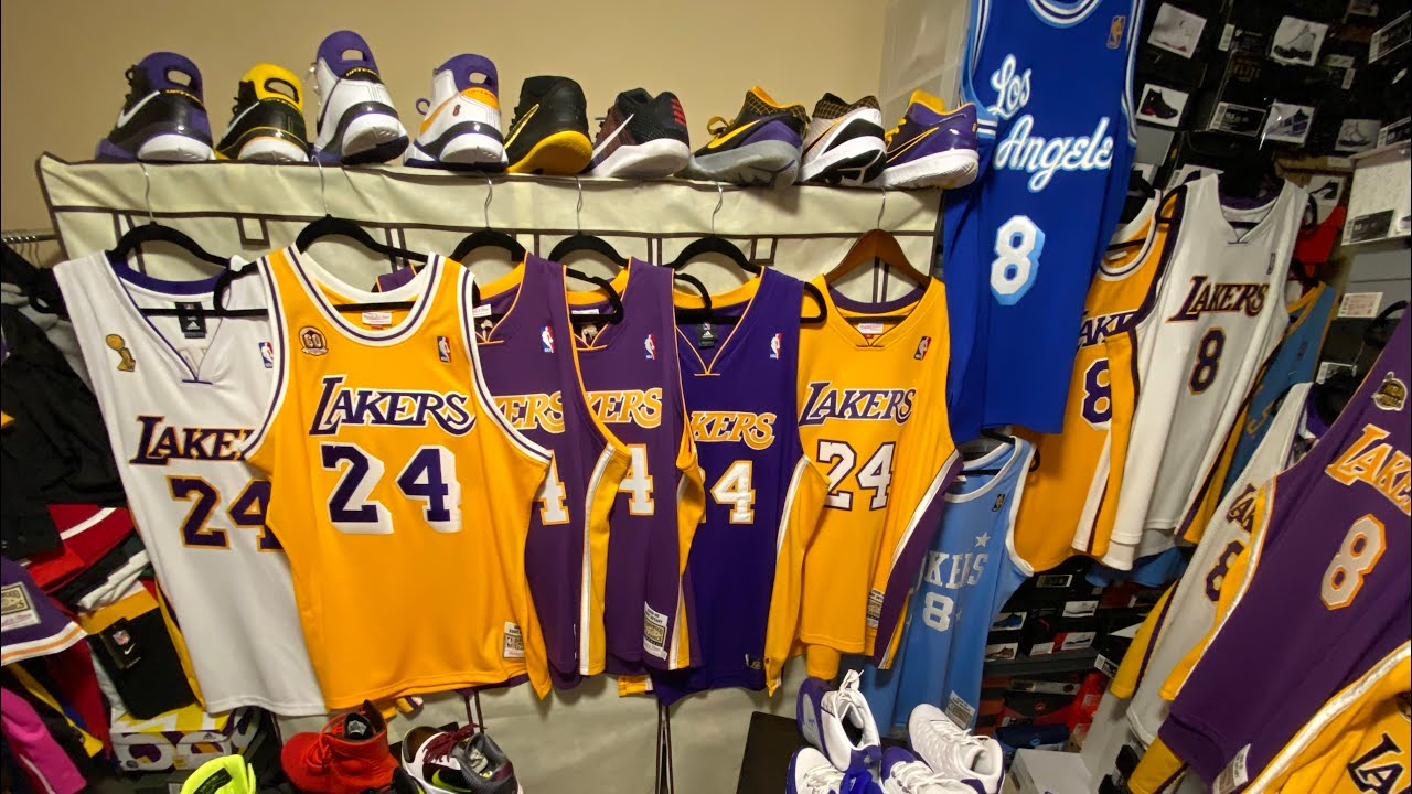 Kobe Bryant Collection ???????? (Jerseys, Sneakers, Etc)