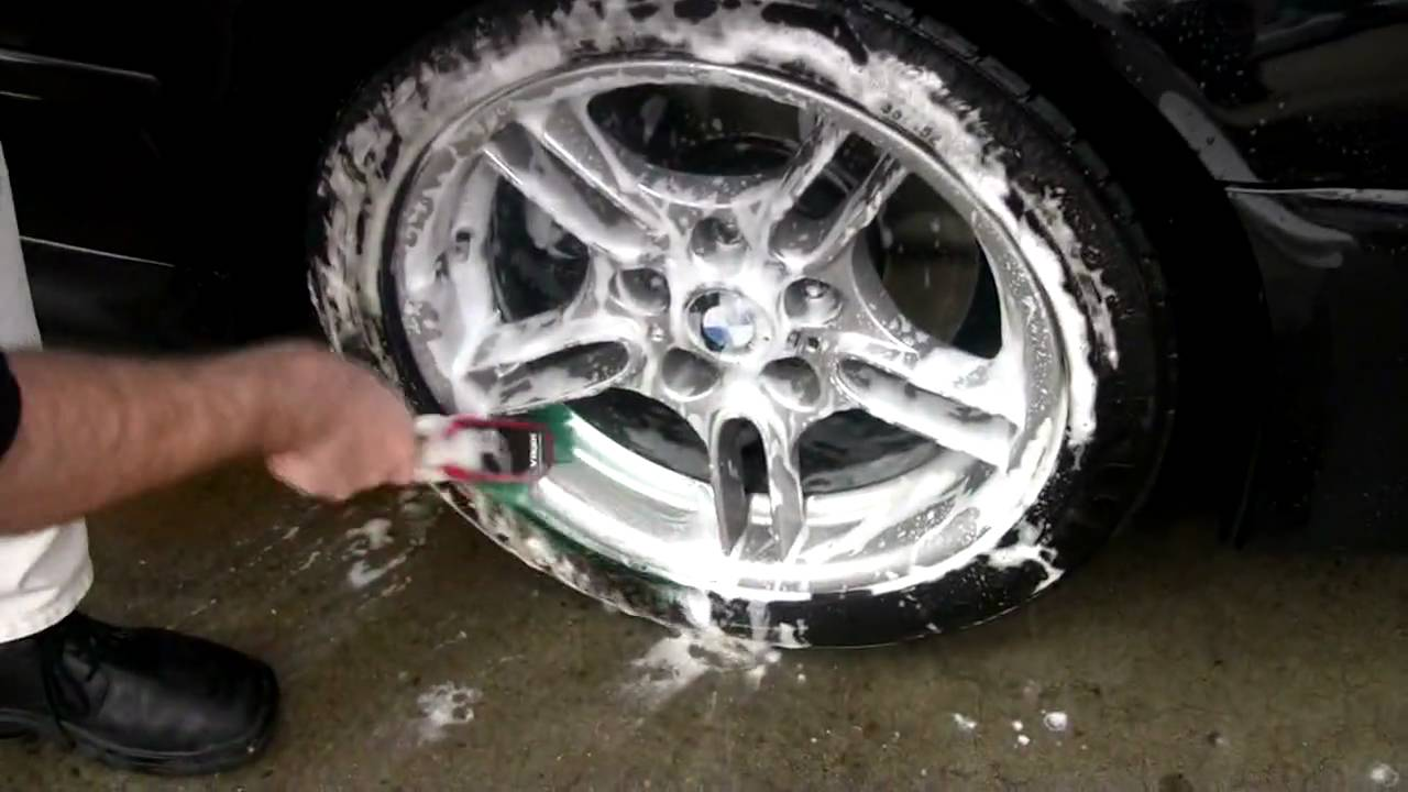 Cleaning Wheels Amp Tyres Car Care Products Youtube