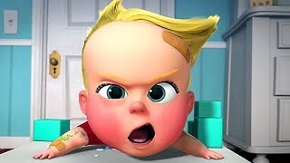 "THE BOSS BABY ""Crazy Baby"" Clip + Trailer NEW (Back In Business, Animation)"