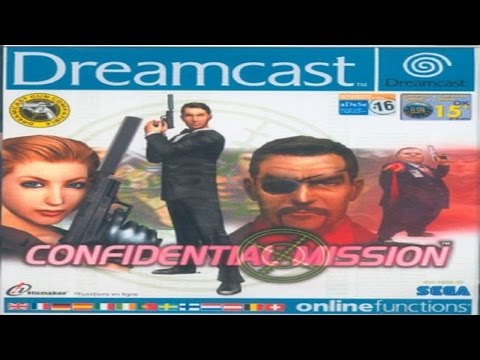 Confidential Mission - Dreamcast Longplay (1080p 60fps)