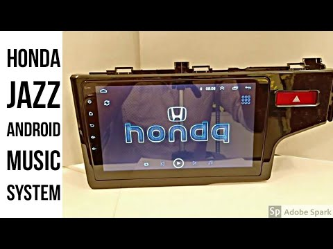 Honda Jazz (2014-2015) Android Car Audio and video player with full hd IPS display