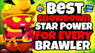 The BEST STAR POWER For EVERY Brawler in Showdown! - Brawl Stars