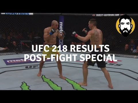 UFC 218 Results: Max Holloway vs. Jose Aldo 2   Post-Fight Special