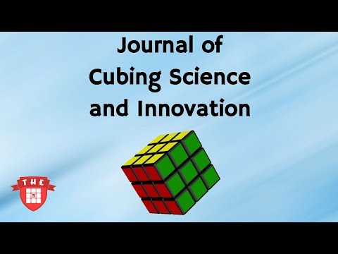 Journal of Cubing Science and Innovation Announcement!