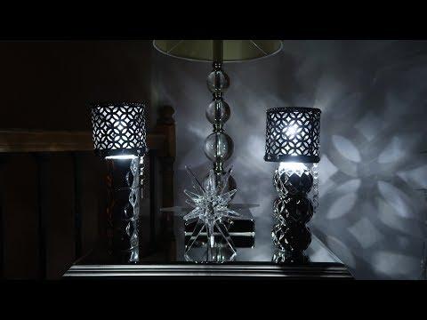 DIY Dollar Tree Battery Operated Lamp