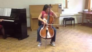 Hannah D. Schmidt spielt A. Dvořák, Konzert h-moll op. 104, Adagio ma non troppo