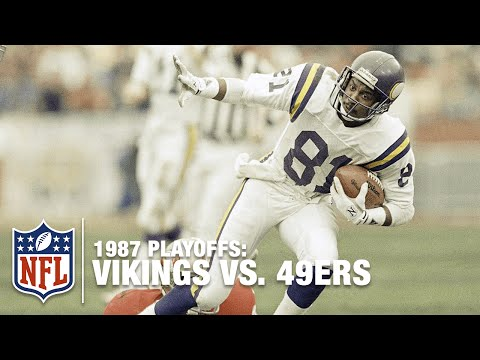 #9: Vikings Upset 49ers in 1987 Divisional Round | Top 10 Upsets of All Time | NFL Films