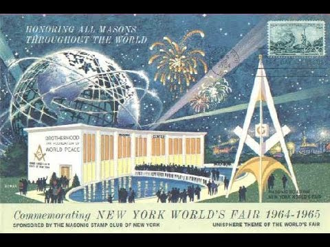 "FLAT EARTH BRITISH Masonic Expositions ""Unisphere"" Globe Programming / The 1812 Overture Era Intro!"