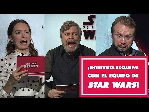 Download Youtube: Disparo de preguntas con Mark Hamill, Daisy Ridley y Rian Johnson de Star Wars: Los Últimos Jedi