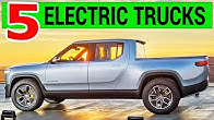 5 Electric Pickup Trucks Close to Reality: from Tesla to Rivian