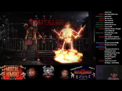 MKXL Oct. Patch Cabjoy (KW/DF Goro) vs SpruceMoose (DF Bo, Possessed Kenshi)