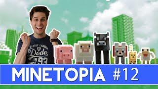 DIEREN IN MINETOPIA! - MineTopia #12