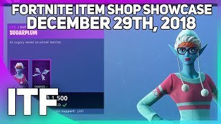 Fortnite Item Shop *NEW* SUGARPLUM SKIN! [December 29th, 2018] (Fortnite Battle Royale)