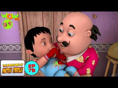 Boxer's Baby - Motu Patlu in Hindi - WITH ENGLISH SUBTITLES! thumbnail