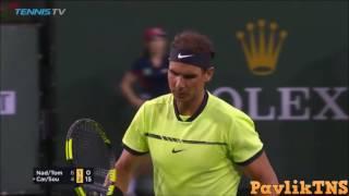 Nadal Tomic vs Carreno Busta Sousa Highlights