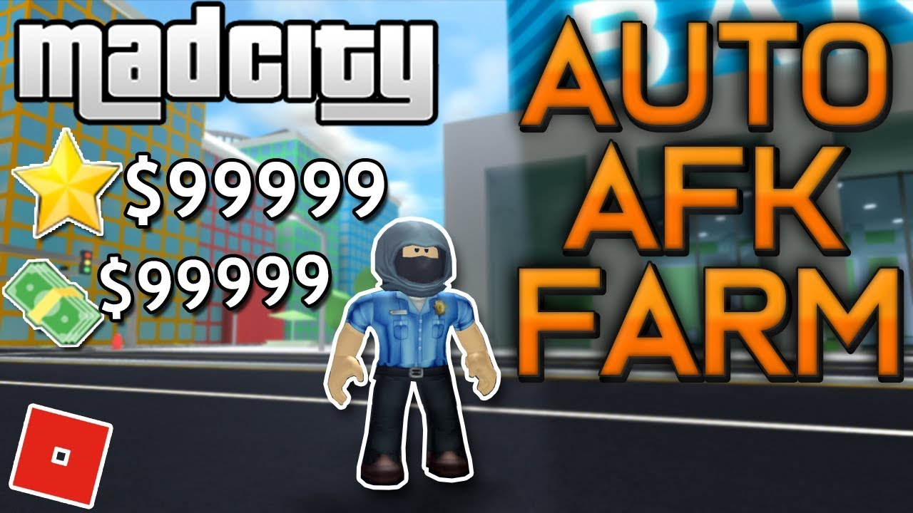 Best Mad City Auto Afk Farm Fast Rank Up Auto Arrest Money