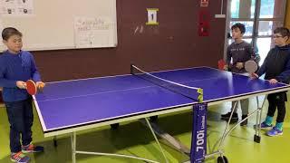 Ping pong, gimnàstica i jocs taula