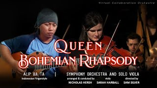 Alip Ba Ta - Queen BOHEMIAN RHAPSODY - for Symphony Orchestra and Solo Viola (collaboration)