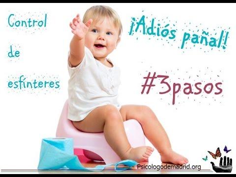 QUITAR EL PAÑAL. 3 PASOS SENCILLOS Y EFICACES. Control de esfínteres ...