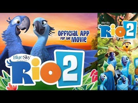 Rio 2 Movie: Official Rio 2 App: Storybook & Games for Kids
