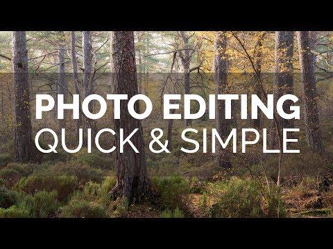 Photo Editing - Quick & Simple