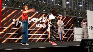 AKB48大握手会シュートサイン気まぐれオンステージで披露された Escape #斉藤真木子 #内山命 #後藤理沙子 #高木由麻奈.