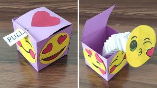 DIY - POP OUT Surprise Box | Surprise Gift Box Idea | POP UP Box | Pull Out Gift Box | Pop Up Box