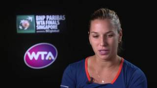 2016 WTA Finals Singapore Day 3: Dominika Cibulkova Post Match Interview