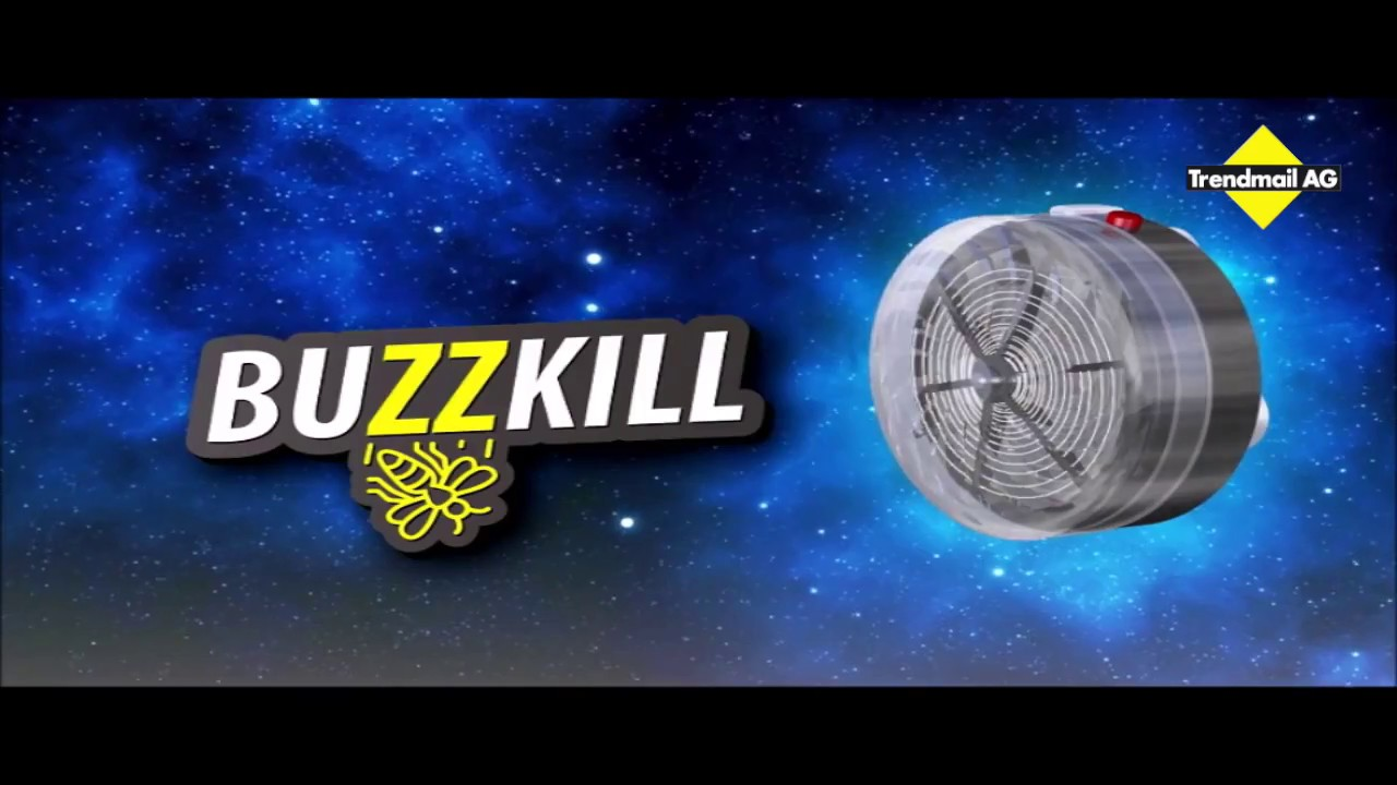 2in1 Buzz Kill SolarPowered Bug Zapper