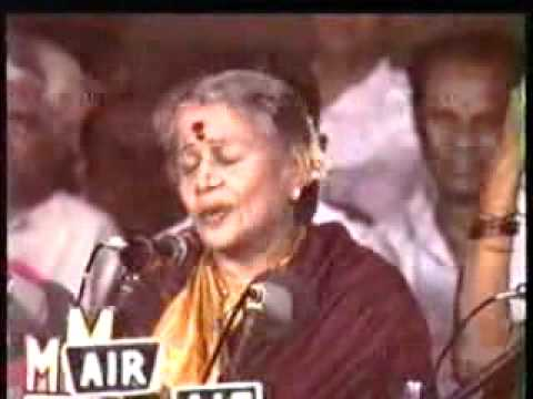 Kalyani Alapana MS Subbulakshmi