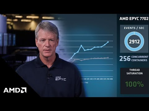 AMD EPYC™ Performance on Docker® Containers