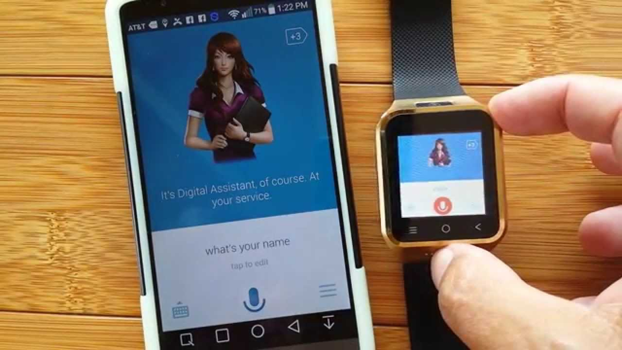 Digital Assistant Apps For Android Smart Watches Youtube