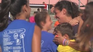"""Boscoreale (NA) - I figli dei boss: """"Vogliamo vivere onestamente"""" (24.08.15)"""