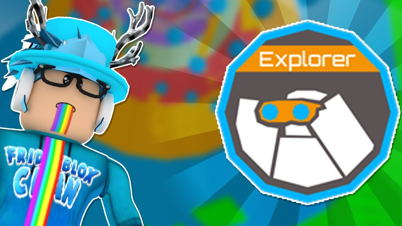 How To Get The Explorer Badge And Blue Halo In Tower Of Hell